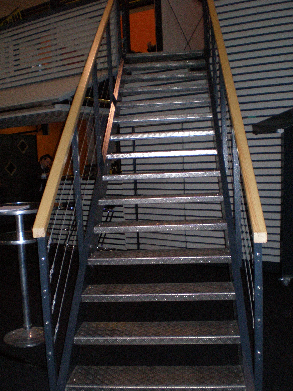 Escaleras met licas en guadalajara hidrometal for Escaleras metalicas
