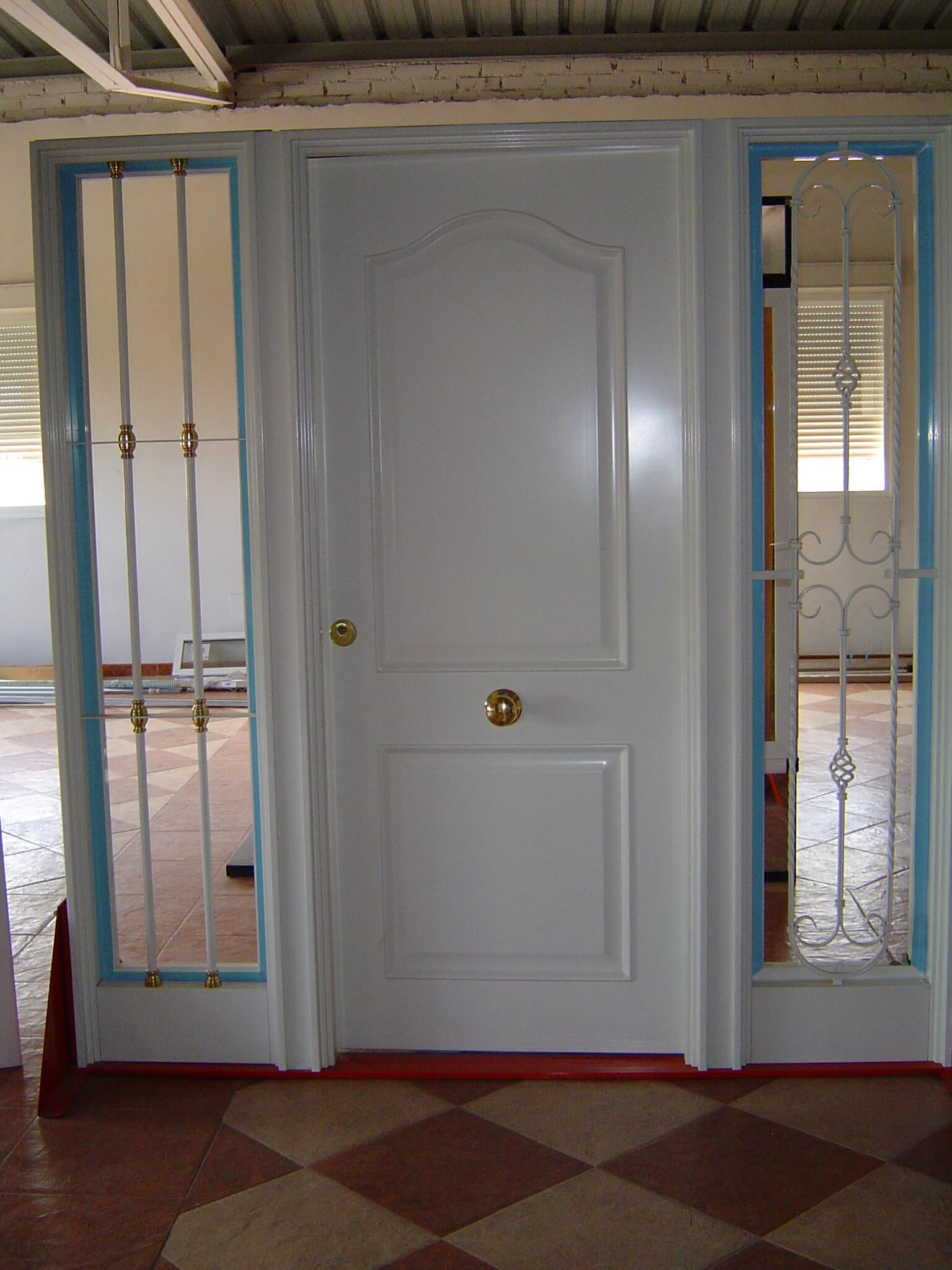 Puertas de entrada a vivienda en guadalajara hidrometal for Puertas para vivienda
